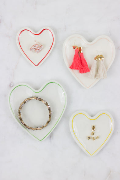 Stacking Hearts Trinket Dish Set