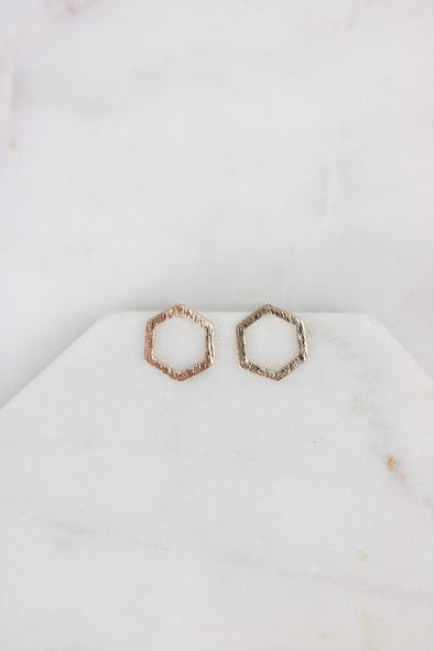 Simplified Hex Studs
