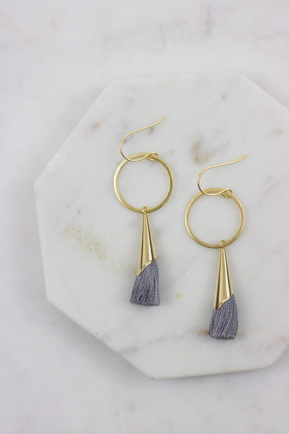 Mariah Tassel Earrings