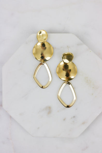 Ring Drop Earrings