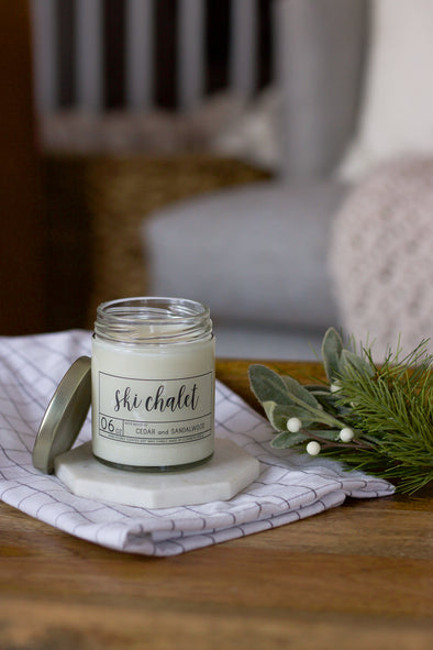 Ski Chalet Soy Candle