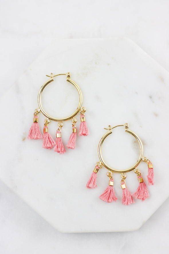 Lainey Hoop Earrings