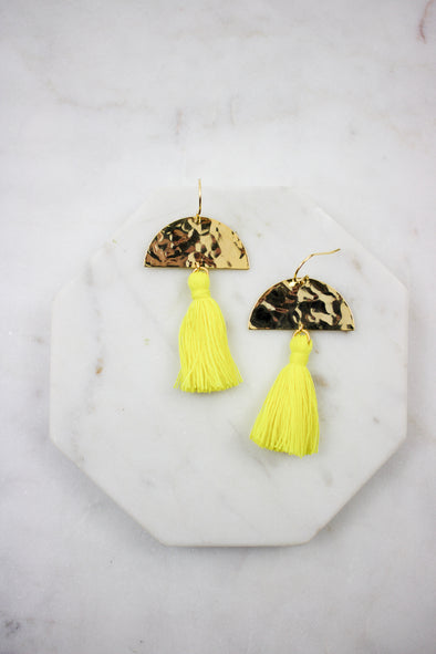 Maya Tassel Earrings