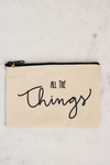 All The Things Zipper Pouch