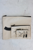 Beauty Pouch Trio Set