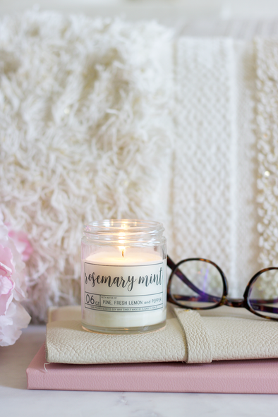 Rosemary Mint Soy Candle