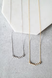 Cubed Bar Necklace