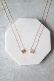 Fair and Square Necklace