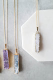 Druzy Layering Necklace
