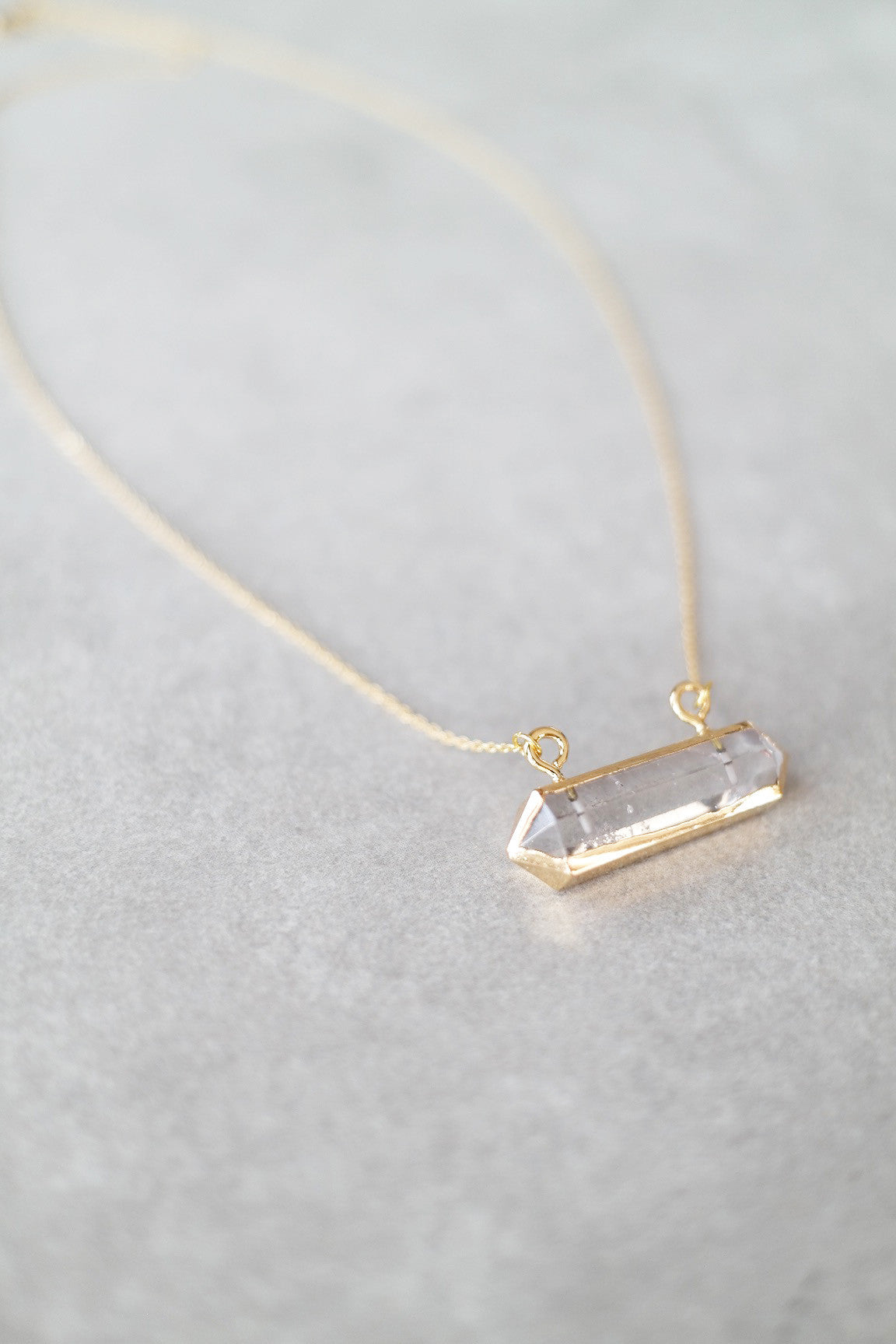 See You in Quartz Necklace