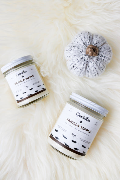 Vanilla Maple Soy Candle