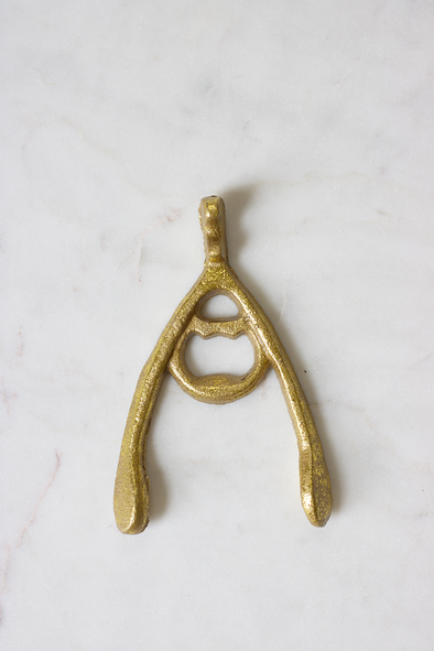 Wishbone Bottle Opener