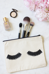 Lashes Zipper Pouch