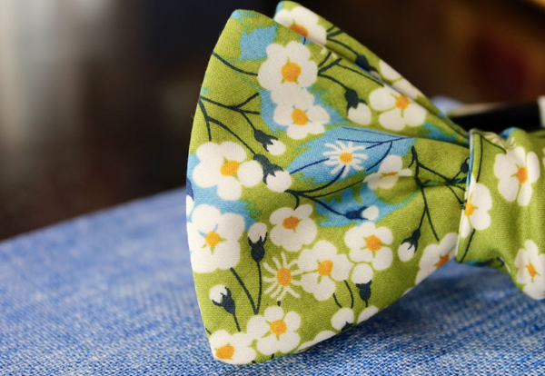 The History of the Floral Bow Tie