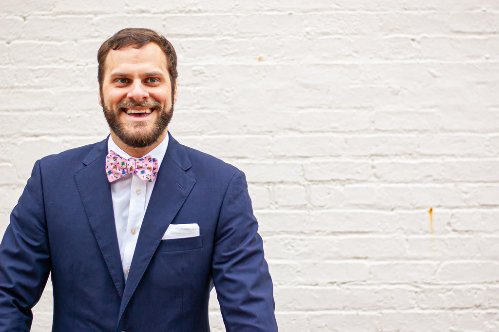 Step into Spring with a Unique Bow Tie