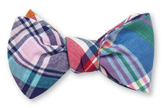Madras Wedding Bow Tie