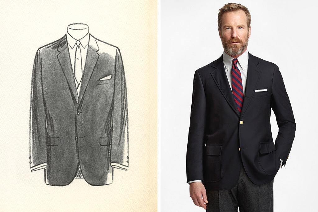 Brooks Brothers Sack Suit Ivy Style