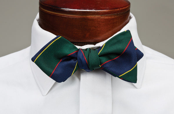 Diamond Tip Bow Tie Shape - The Louie