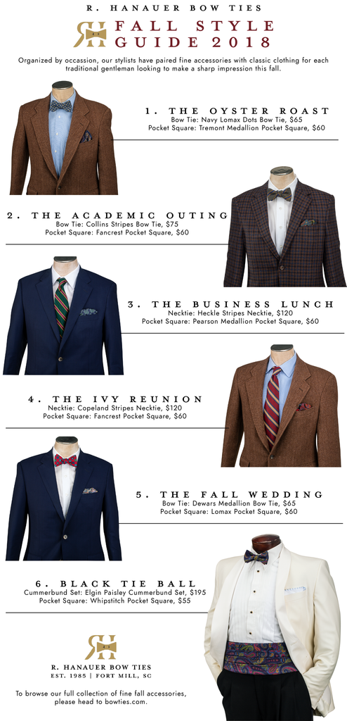 R Hanauer Bow Ties The Fall Style Guide 2018
