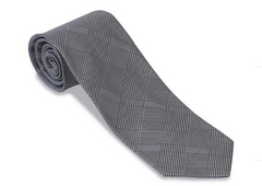 R. Hanauer Glen Plaid Necktie