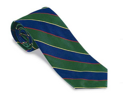 R. Hanauer Argyle & Southerland Striped Regimental Necktie
