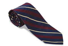 R. Hanauer Gloucestershire Striped Regimental Necktie