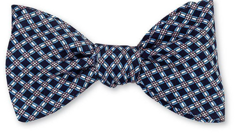 Navy Norris Links Bow Tie