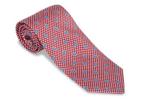 Red Virginia Pine Necktie