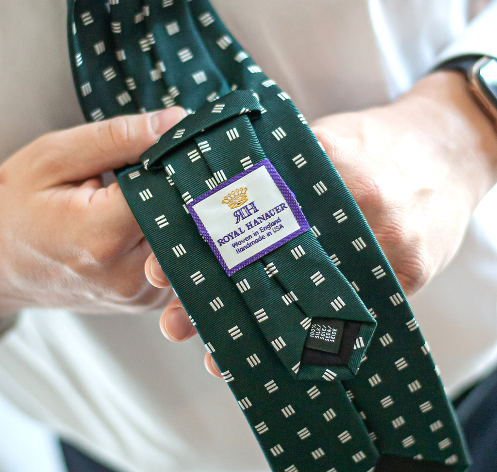 Silk tie for Windsor Knot