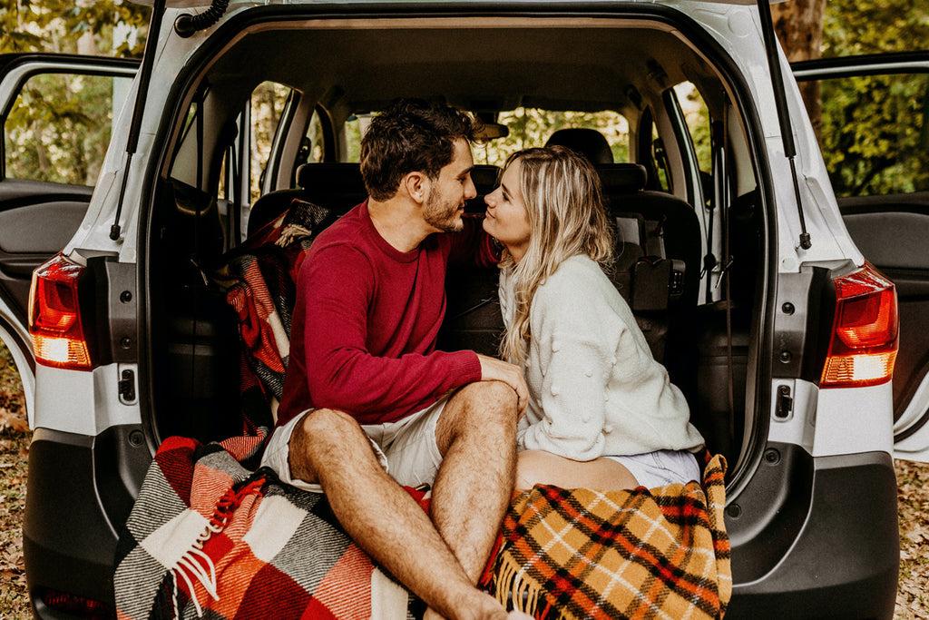 At home date night ideas - Camping