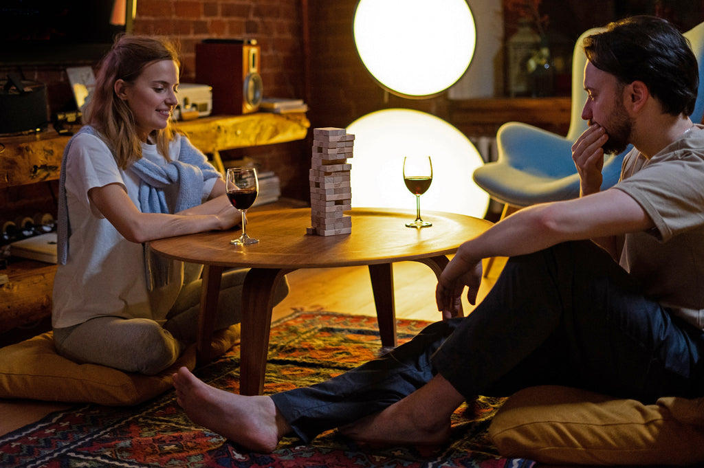 At home date night ideas - game night