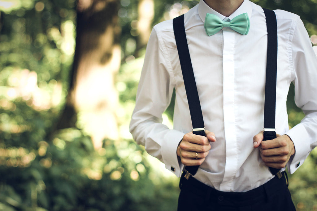 Bow Tie Fashion Accessories - Suspenders