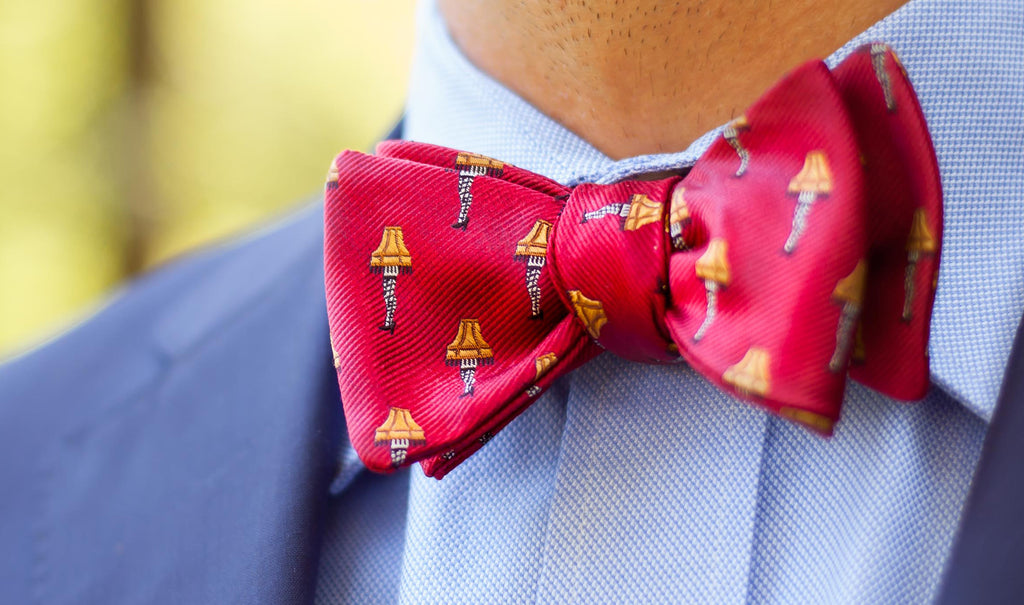 Red Leg Lamps Bow Tie
