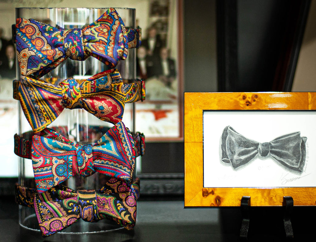 Colorful Paisley Bow Ties