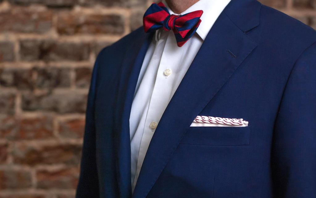 Presidential Fold Pocket Square