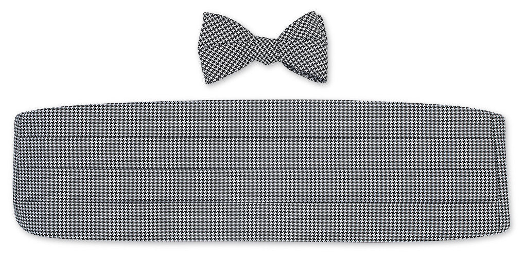 silk bow tie and cummerbund sets