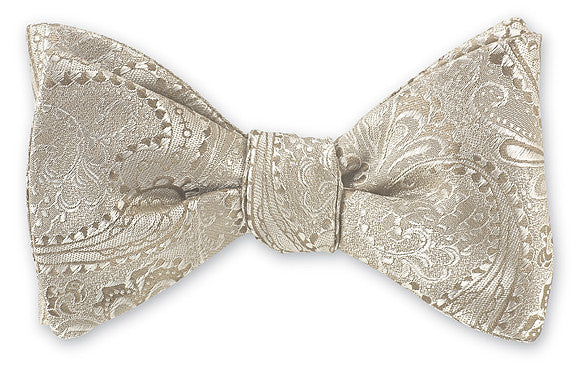champagne bow ties