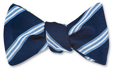 stripe bow ties