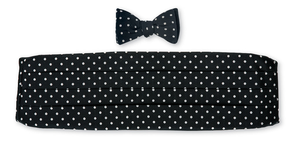formal cummerbund set