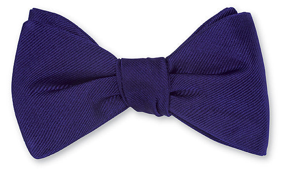 purple bow ties