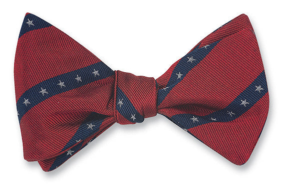 Red, White & Blue Americana Bow Tie - B2819