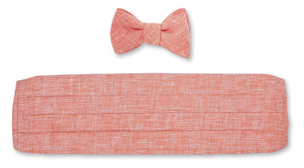 bow tie and cummerbund sets