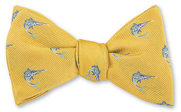 yellow marlin bow tie