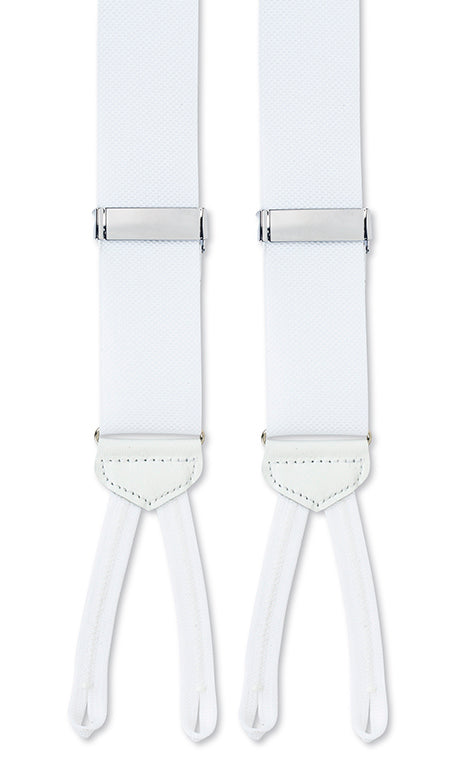 white suspenders