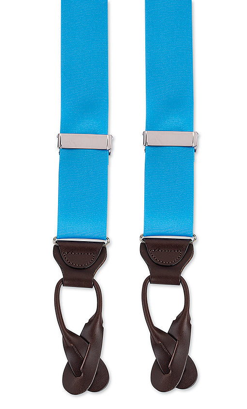 blue suspenders