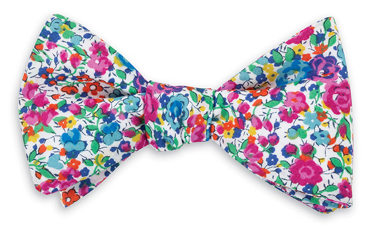 Pink Emma and Georgina Liberty Bow Tie for Boys