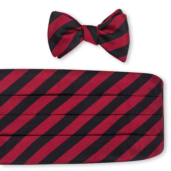 striped cummerbund