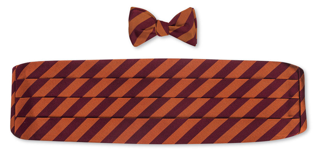 vt bow tie and cummerbund sets