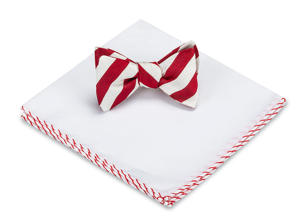 Red/White Bar Stripes Set
