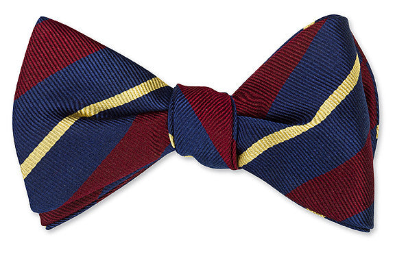 regimental bow ties